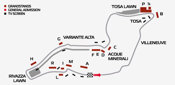 Трасса гонки Формула-1