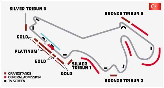 Трасса гонки Формула-1.